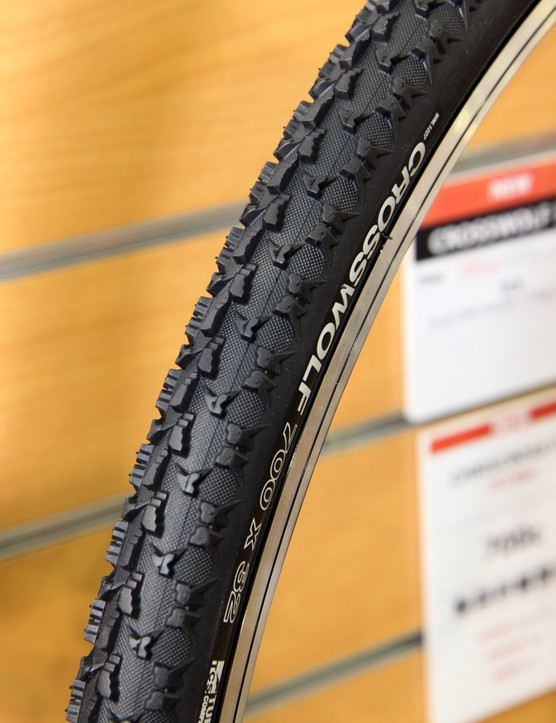 WTB has updated its CrossWolf cyclocross clincher with a tubeless bead for easy - and secure - conversions when using sealant.