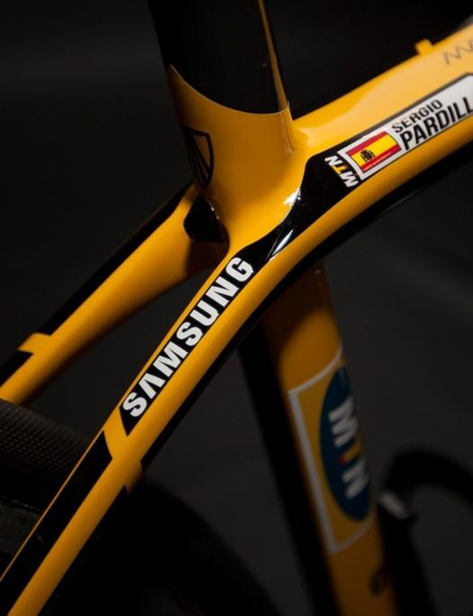 It's Sergio Pardilla's bike