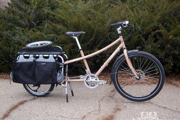Xtracycle's new EdgeRunner is an immensely able workhorse, able to carry more than 100kg (220lb) of gear while still remaining surprisingly easy to pedal around