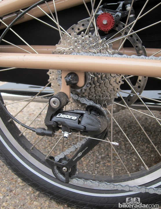 Xtracycle equips the EdgeRunner with a basic but highly functional build kit - nothing flashy but nothing cut-rate, either