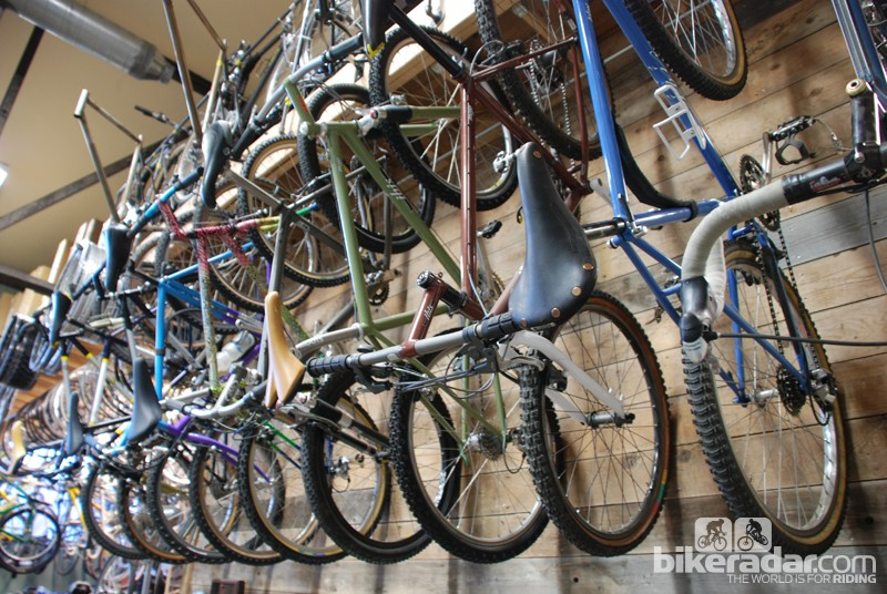 There are a number of Ibis' steel creations in the collection
