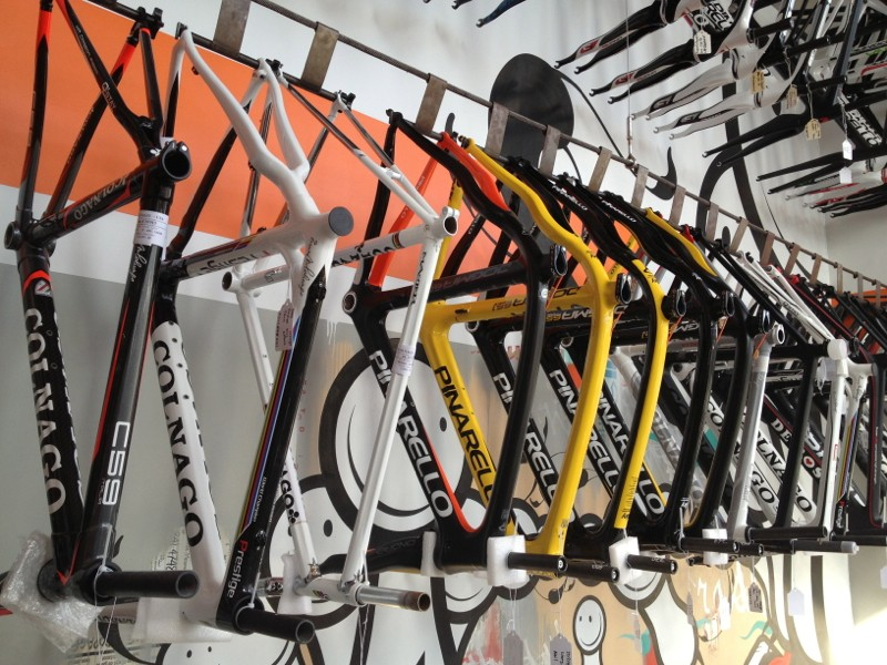 Wrench Science builds most bikes to spec, piece by piece from the frame up