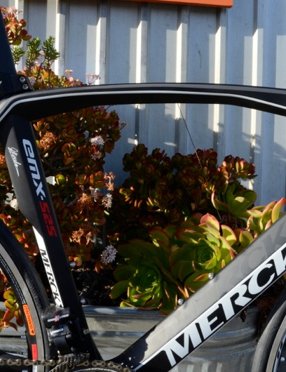 Chen has his eye on this Merckx EMX-25, but he would build it with Di2 9070