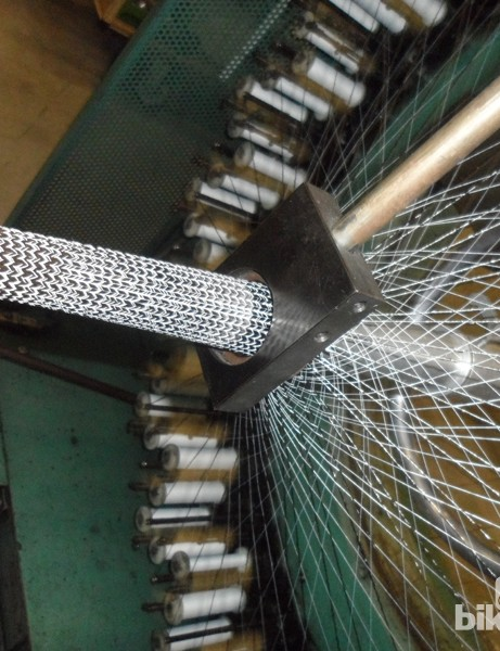 Time's engineers can configure the makeup of the carbon tubing used on the frames, from the orientation of the weave to the individual thickness and material used in each strand
