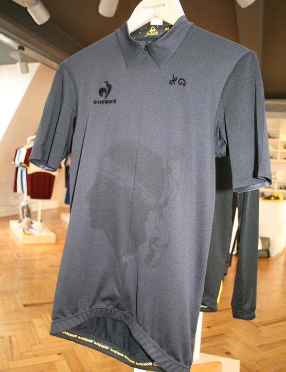 There are 100 of the maillot noir in the UK – the Moor's Head design celebrates this year's Tour de France visit to Corsica