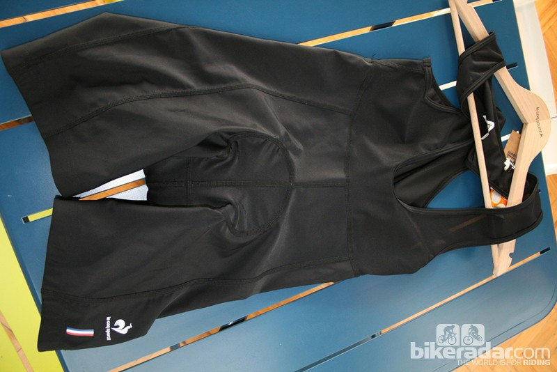 The Volp bib shorts, new for 2013, are unashamedly technical…