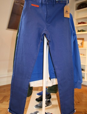 Flashy chinos in the casual range, with a tapering leg