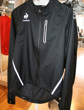 The Forman JK is a technical rain cape, but look closely and the collar flourish is there too