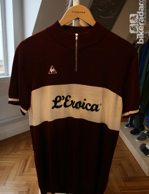 The L'Eroica range – retro and merino wool throughout
