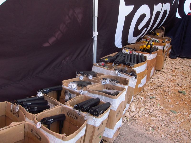 Tern provided locks, lights, baskets, and an optional helmet along with free bikes to SXSW attendees