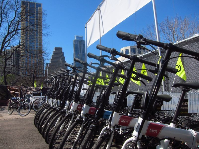 For the second year in a row, SXSW attendees checked out Tern's entire fleet during the Interactive conference
