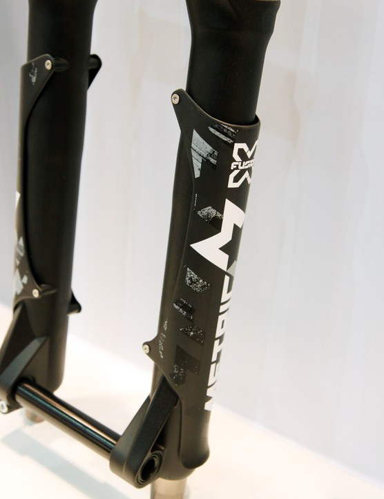 As with the RV1, the new Metric lowers are protected with bolt-on carbon guards