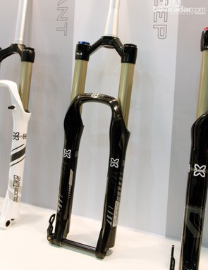 The new X-Fusion Sweep is aimed at the trail and enduro crowds with 34mm-diameter upper tubes and up to 160mm of travel. Interesting, it'll only be available for 27.5-inch wheels.
