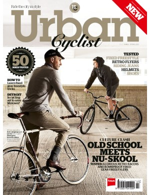 Issue three of Urban Cyclist magazine has just gone on sale