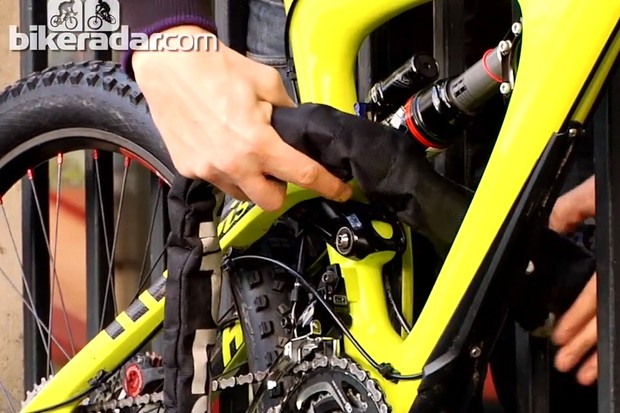 Learn how to lock your bike safely and securely and you'll gain peace of mind