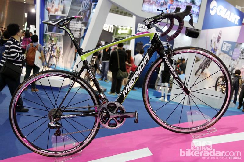 Merida debuted its new Ride SL classics bike at the Taipei Cycle Show