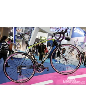 Merida debuted its new Ride SL classics bike here at the Taipei Cycle Show