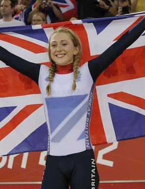 Laura Trott is one of Britain's new generation of women's cyclists