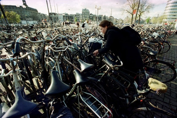 Cycle parking in Amsterdam is in short supply