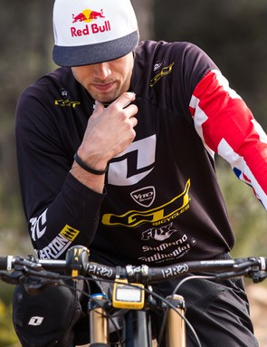 Along with Aaron Gwin, Gee Atherton was another key player in the new fork and shock from an early stage. He did extensive testing on the inverted fork