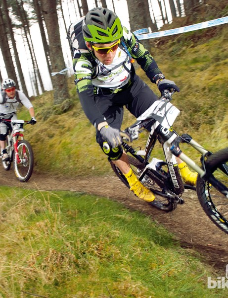 Gravity enduro racing is like going for a ride with your mates, only with a clock ticking on the downhills