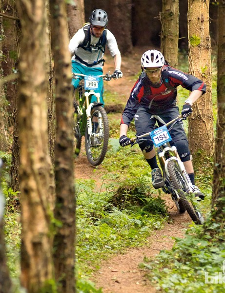 Lots of downhillers are making the switch to gravity enduro because you get a lot more time on the bike