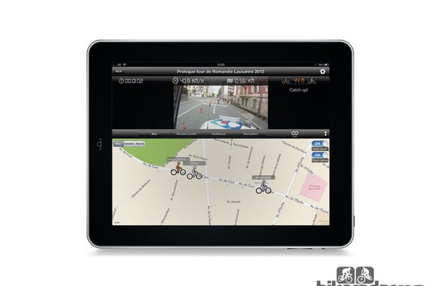 Kinomap Trainer app