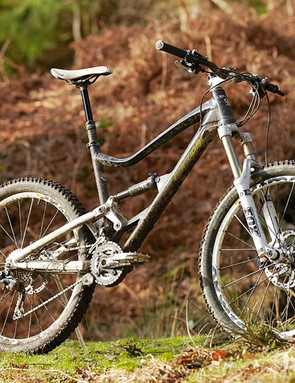 The One-Sixty 3000 is designed as a top-flight all-mountain/enduro machine