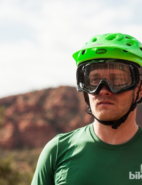The Super is goggle compatible