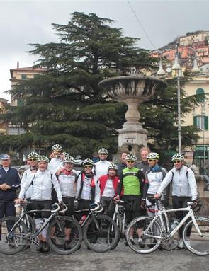 The piazza at Rocca di Papa