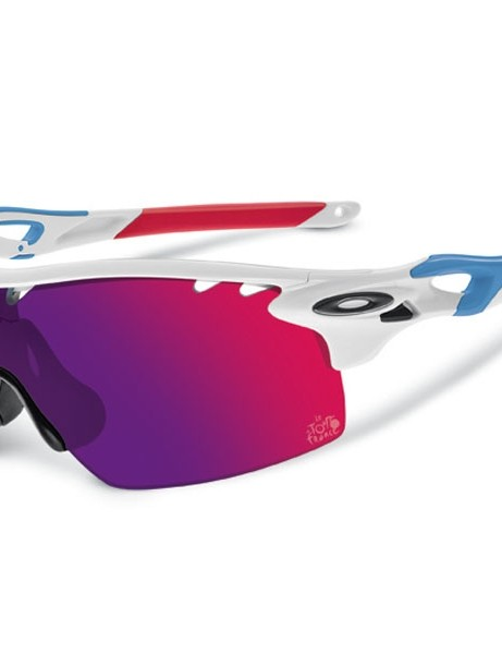 The Tour de France themed Oakley RadarLock XL Straight Stem
