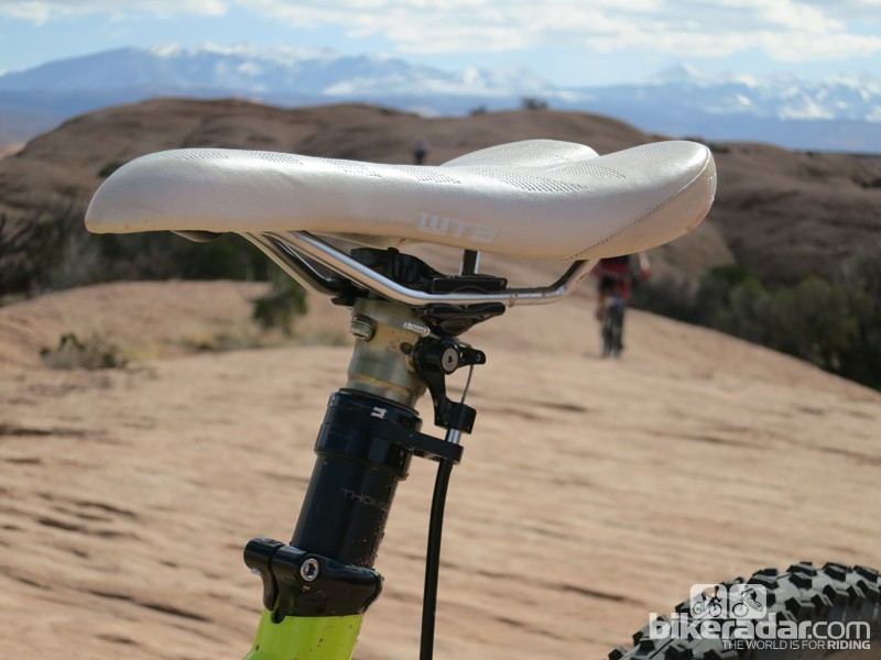 The Elite Dropper has 5in (125mm) of travel