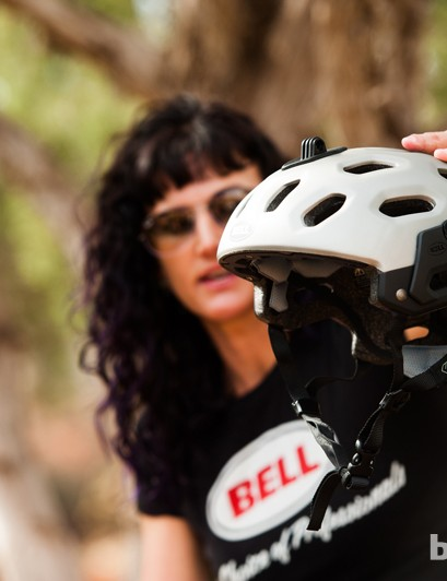 Bell product manager Shannan Valette noted that the Super was designed with enduro racing in mind