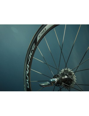 Shimano's new C50 Dura-Ace carbon clinchers
