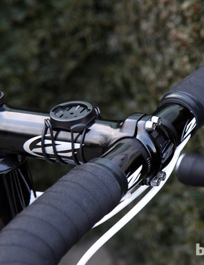 Tom Boonen (Omega Pharma-QuickStep) is using an all-aluminum cockpit from Zipp for Ronde van Vlaanderen.