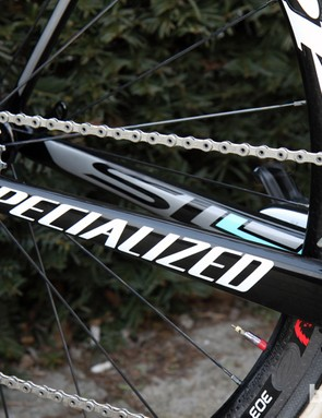 The SL4 is the latest version of Specialized's Tarmac road racing flagship.