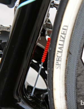 The Gore Ride-On 'grub' cable seal could prove handy if it's wet on Sunday.