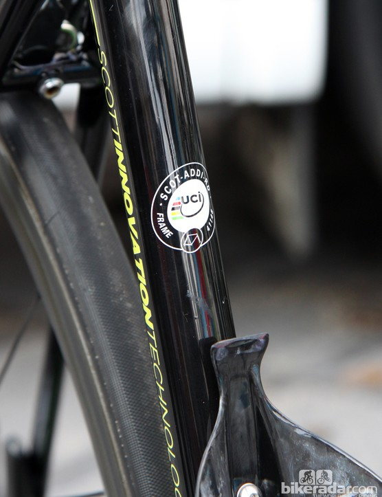 Scott has yet to announce the new Addict, or even a launch date, but the UCI has already approved the design
