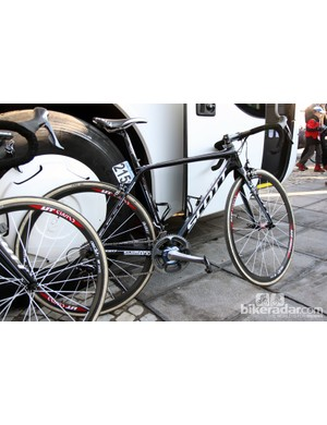 IAM Cycling is also using the new Scott Addict at this year's Ronde van Vlaanderen
