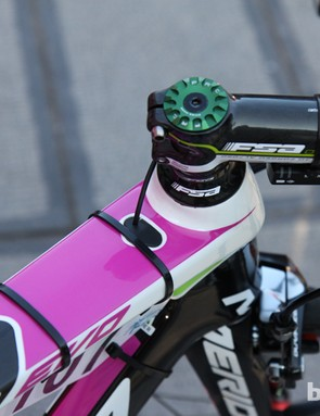 Derailleur cables (or wires) are fed into the top of the top tube on Merida's new Reacto Evo aero road bike
