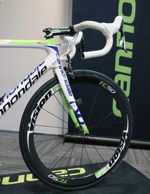 Vision TriMax Carbon TC50 carbon tubular wheels