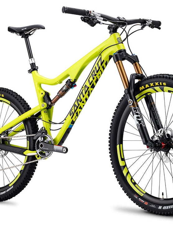 The all-new Santa Cruz Bronson 650b trail bike