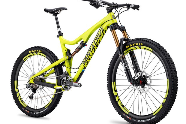 The all-new Santa Cruz Bronson 650b trail bike