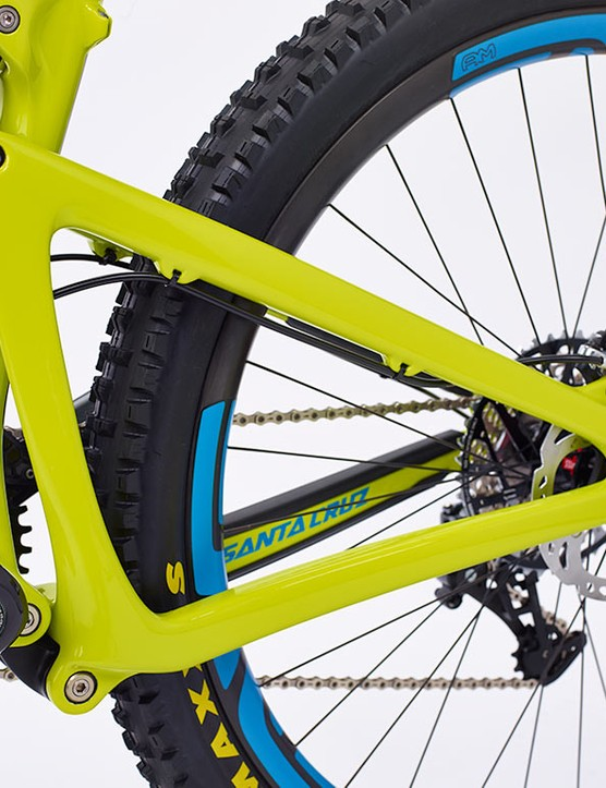 The Bronson uses a VPP rear end delivering 150mm of travel