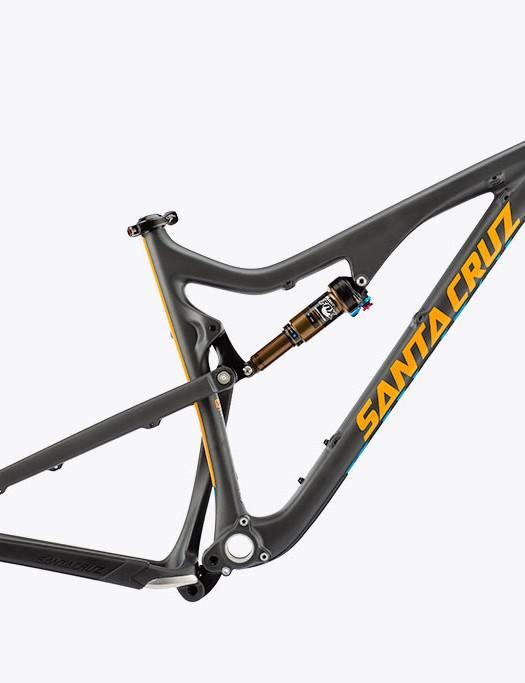 Bronson carbon frame - black