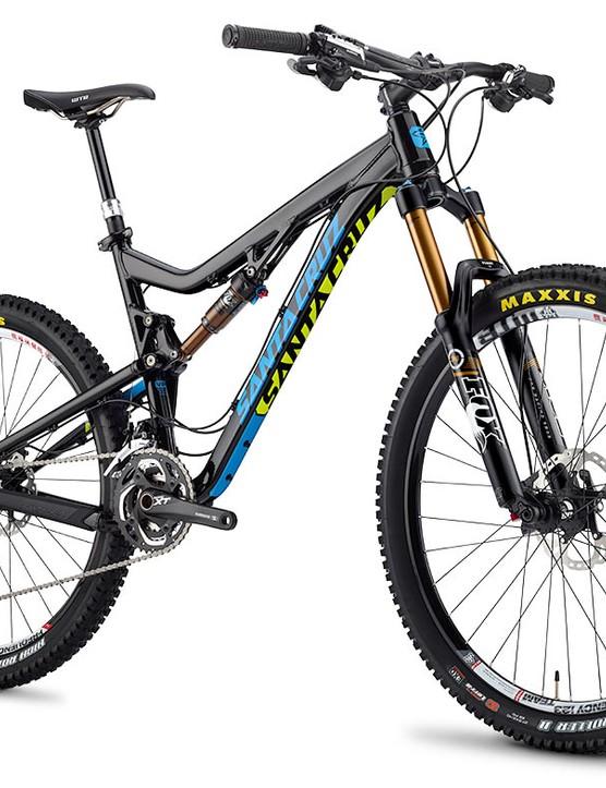 Santa Cruz Bronson aluminium - black