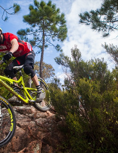 The Bronson is the Syndicate's race bike for their Enduro World Series campaign