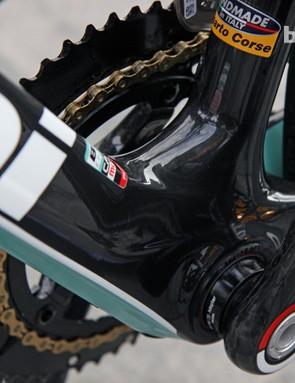 Bianchi's new Infinito will use a PressFit30 bottom bracket