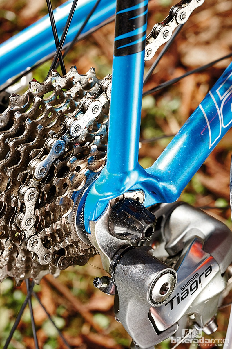 The 12-28T cassette delivers a good range of gears