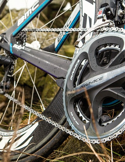 Off-the-peg componentry doesn't get much better than digital Di2 and Zipp 808 tubs